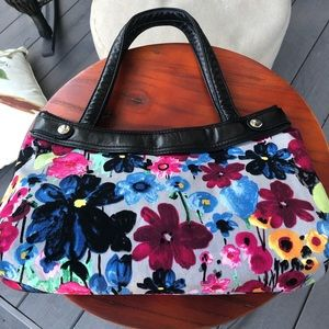 Thirty-one EUC Floral Shoulder Bag 14x9""